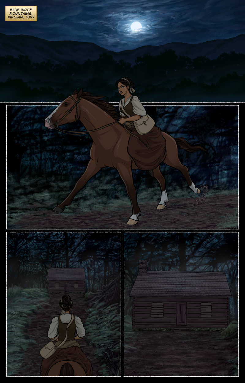Page 1 – Night Ride